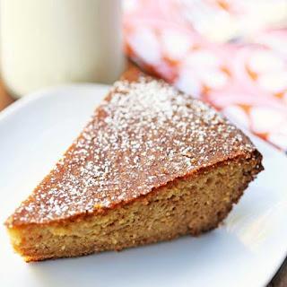 Almond Flour Cake.