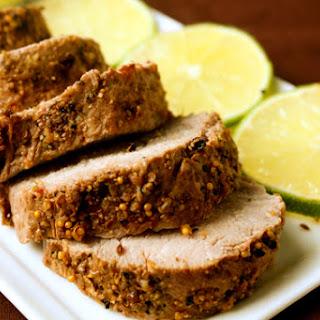 Ginger Lime Pork Tenderloin