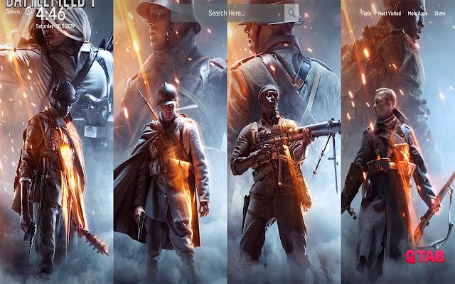 Battlefield 1 Wallpapers HD Theme