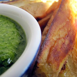 Sweet Potato Oven Fries with Citrus Herb Dip