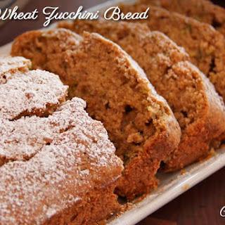 Soft Wheat Zucchini Bread