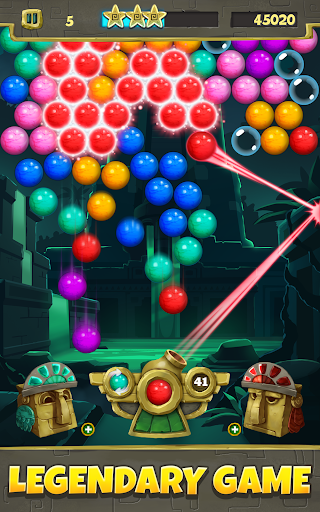 Bubble Shooter Legends - screenshot