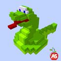 Snaky 3D Slip,Slide,Slither icon