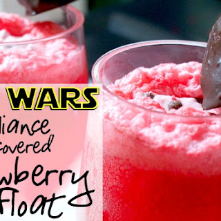 Star Wars Rebel Alliance Chocolate-Covered Strawberry Float.