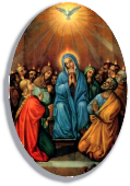 Our Lady Queen of Apostles Parish Church logo