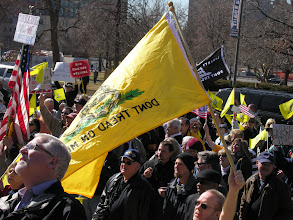 Photo: Denver Tea Party rally 2011; photo by Bob Glass; posted with permission by Ari Armstrong.