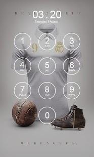 Real Madrid Lock Screen : Hala Madrid - náhled