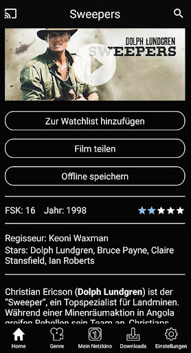 Netzkino - Filme kostenlos 2.6.8 screenshots 2