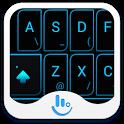 Neon Blue Light Keyboard Theme icon