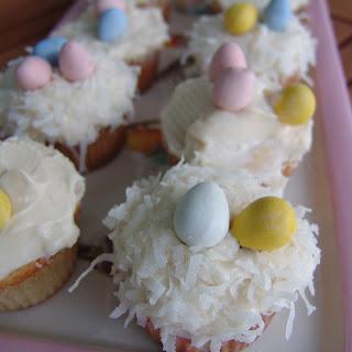 Egg Nest cupcakes