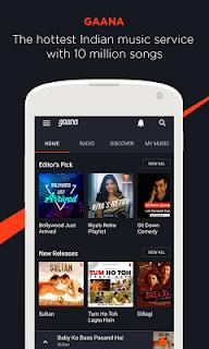 Gaana: Bollywood Music & Radio screenshot 00