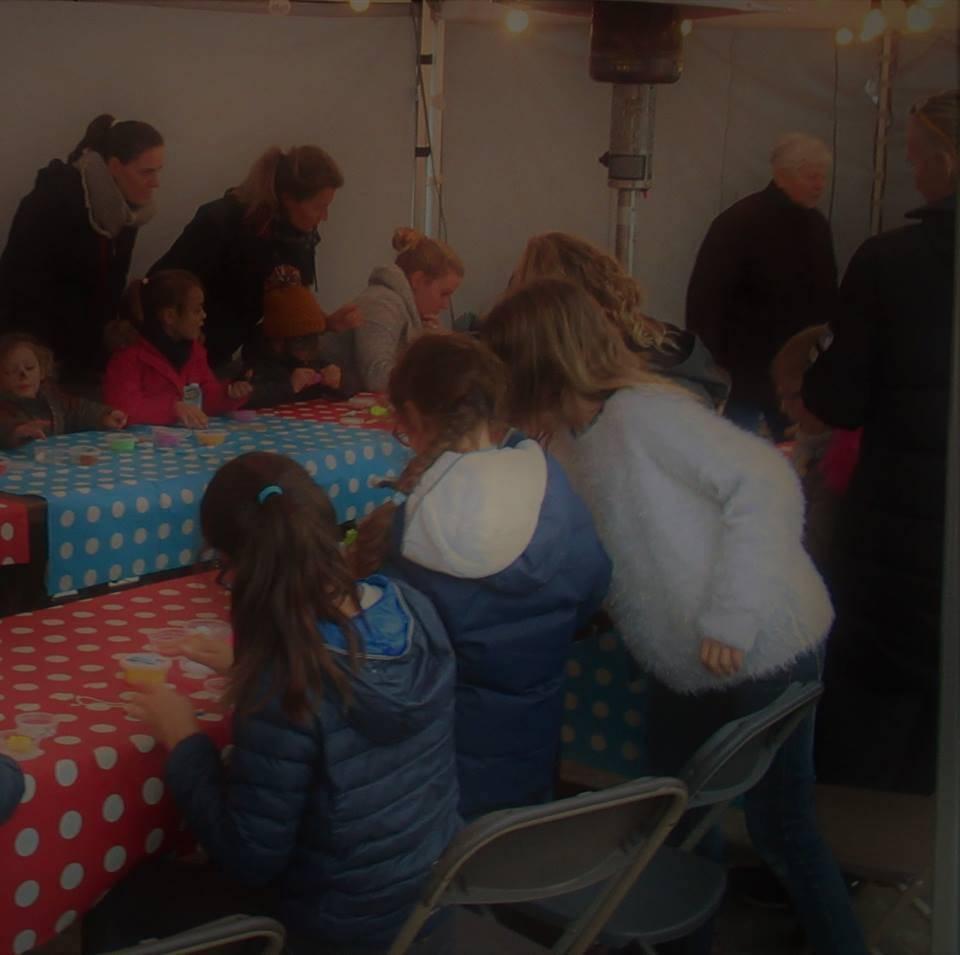kinderanimatie tijdens sinterklaasfeest