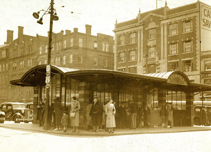 The Harvard station circa 1930s.