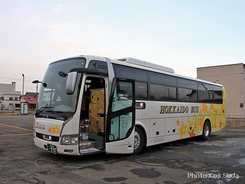 北海道バス「帯広特急ニュースター号」 ・997 帯広営業所にて_01
