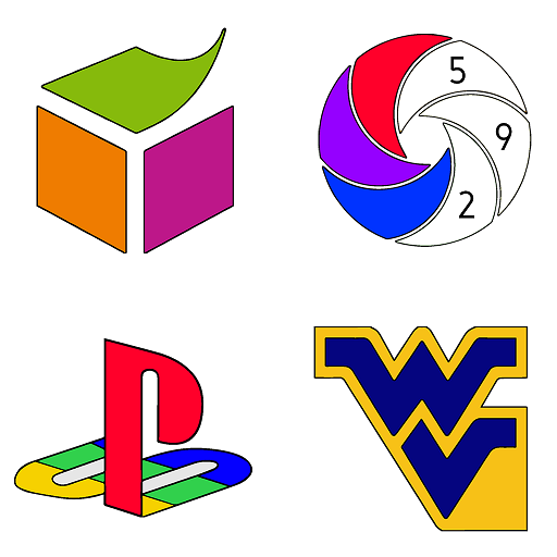 Logos Color by Number - New Coloring Book Pages Icon