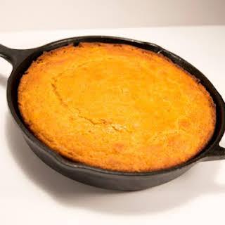 Sweet Potato Cornbread.
