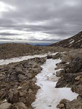Photo: towards the summit