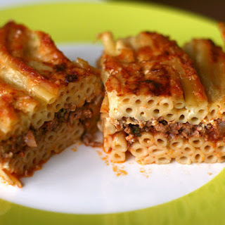 Greek Pastitsio.