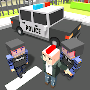 Blocky Vegas Crime Simulator:Prisoner Survival Bus