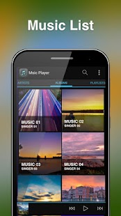 Free Music Player For Android- screenshot thumbnail