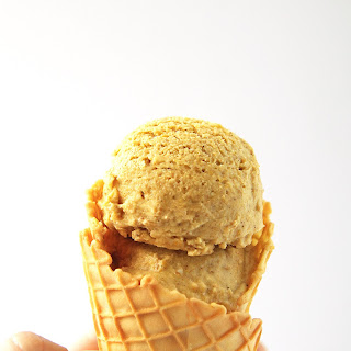 Dairy-Free No Churn Pumpkin Spice Ice Cream