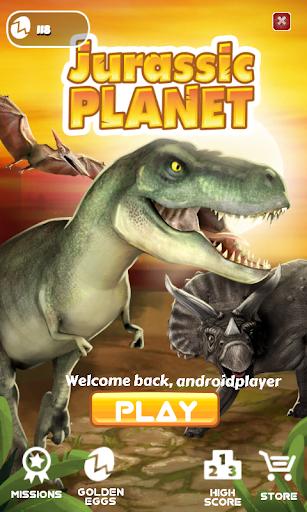 Jurassic Planet -Dinosaur Game