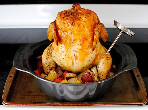 Bundt Pan Roasted Chicken Recipe