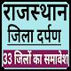 Rajasthan Gk- District wise,in hindi 2019 APK