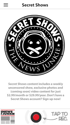 The News Junkie - screenshot