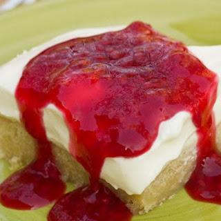 Raspberry Cheesecake Bars By Mommie Cooks