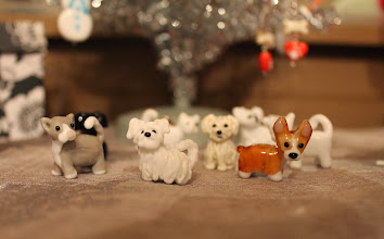 Photo: Sculpted dogs and cats $30-$40 each