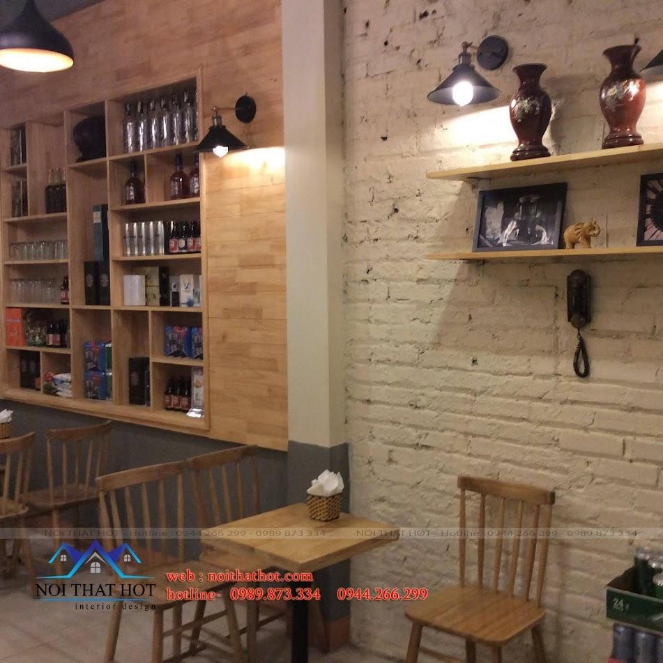 thiết kế quán cafe chất lượng cao