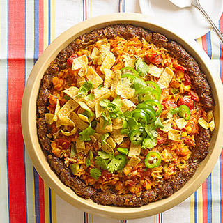 Deep-Dish Mexican Meat Loaf Pie.