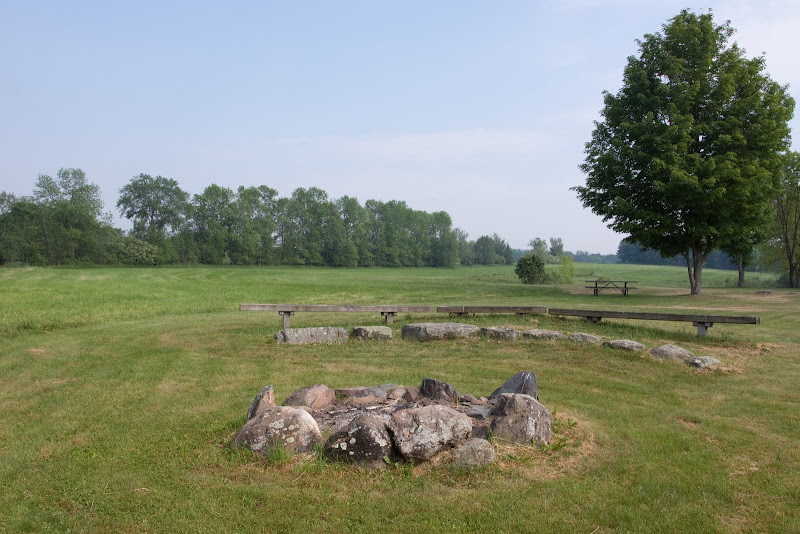 Photo: Picnic and group campfire area