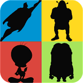 Guess the Shadow Quiz Game - Characters Trivia