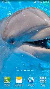 Dolphin Live Wallpapers screenshot 1