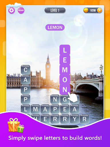 Word Town: Search, find & crush in crossword games - screenshot