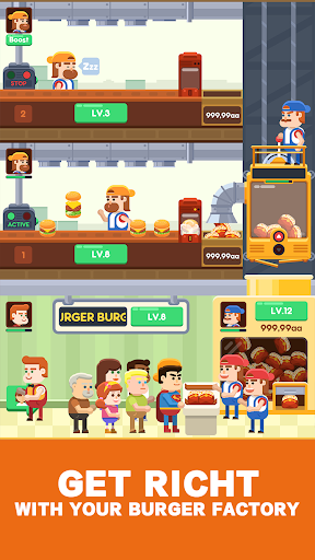 Idle Burger Factory - Tycoon Empire Game Hack, Cheats