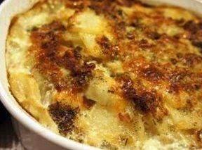 Bacon / Parmesan  Scalloped Potatoes