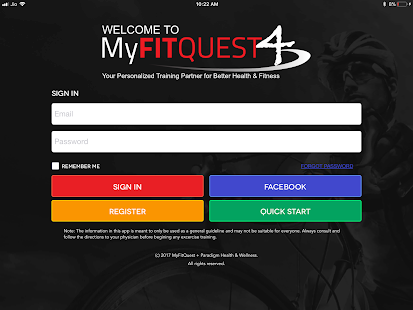 MyFitQuest 4 screenshot