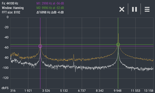 Advanced Spectrum Analyzer PRO 2.1 10