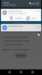 Leaf Notification Donation screenshot 1