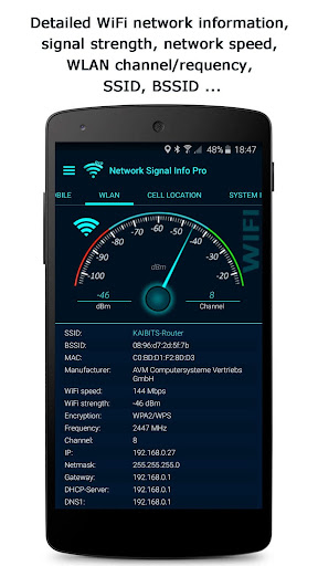 Network Signal Info Pro  screenshots 2