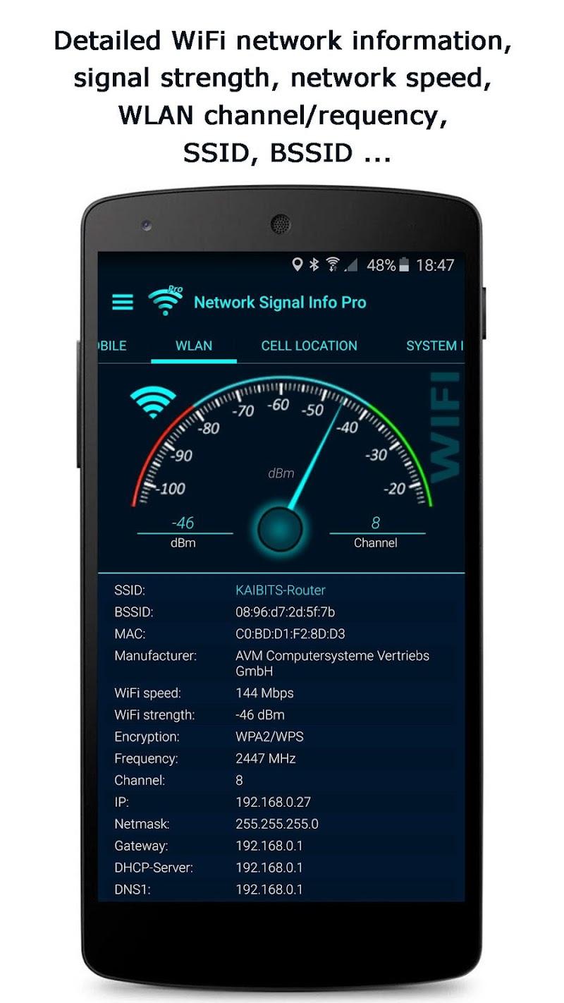 Network Signal Info Pro Screenshot 1