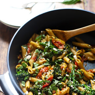 20-Minute Lemon Pesto Penne Recipe