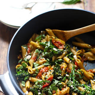20-Minute Lemon Pesto Penne.