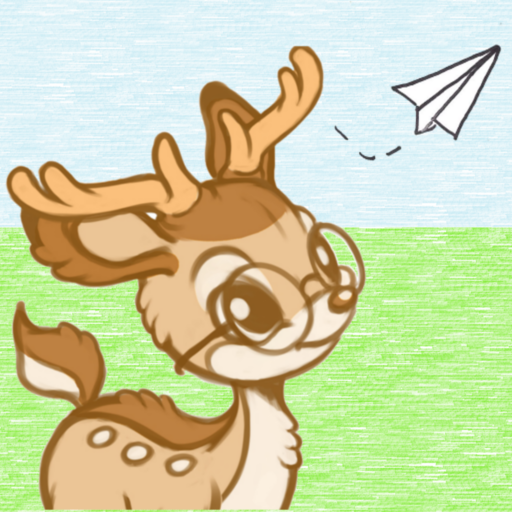 Little Deer, the Engineer, and the Paper Airplane