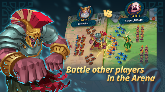 Game of Nations: Swipe for Battle Idle RPG 4