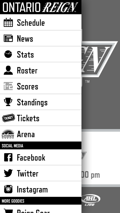 Ontario Reign- screenshot