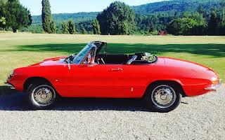 Alfa Romeo Giulia Spider Duetto Rent Lombardia